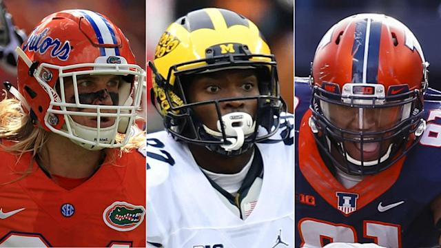 The draft is especially deep with edge rushers, as well as at running back, tight end, wide receiver and in the secondary.