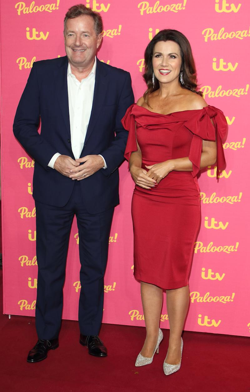 Susanna Reid and Piers Morgan at the ITV Palooza at the Royal Festival Hall, South Bank (Photo by Keith Mayhew / SOPA Images/Sipa USA)
