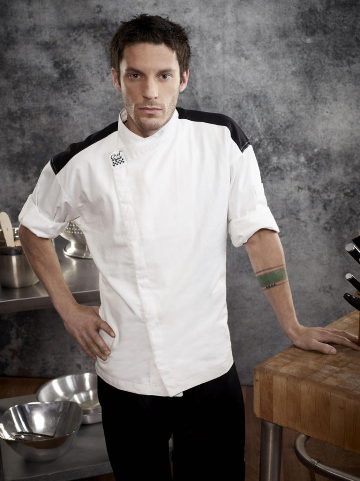 <b>Name: </b>Brian Merel<br><b>Age: </b>31<br><b>Occupation: </b>Personal Chef<br><b>Hometown: </b>Chicago, IL<br><b>Signature Dish: </b>Dark Chocolate Molten Cake with Berry Sauce and Cream