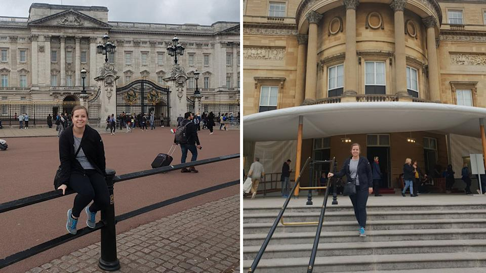 Buckingham palace tour
