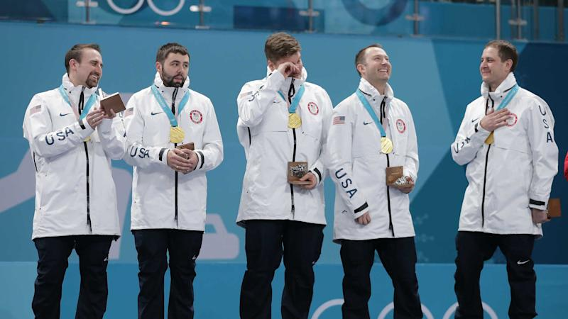Winter Olympics 2018: U.S. men given wrong medals after 'Miracurl on Ice'