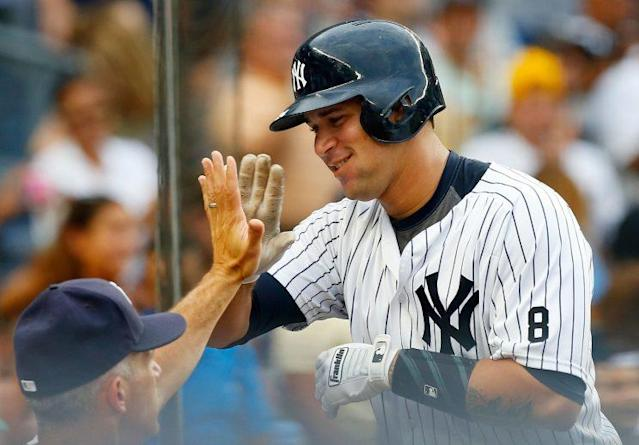 Yankees catcher Gary Sanchez appears poised for a strong fantasy year. (Getty Images)