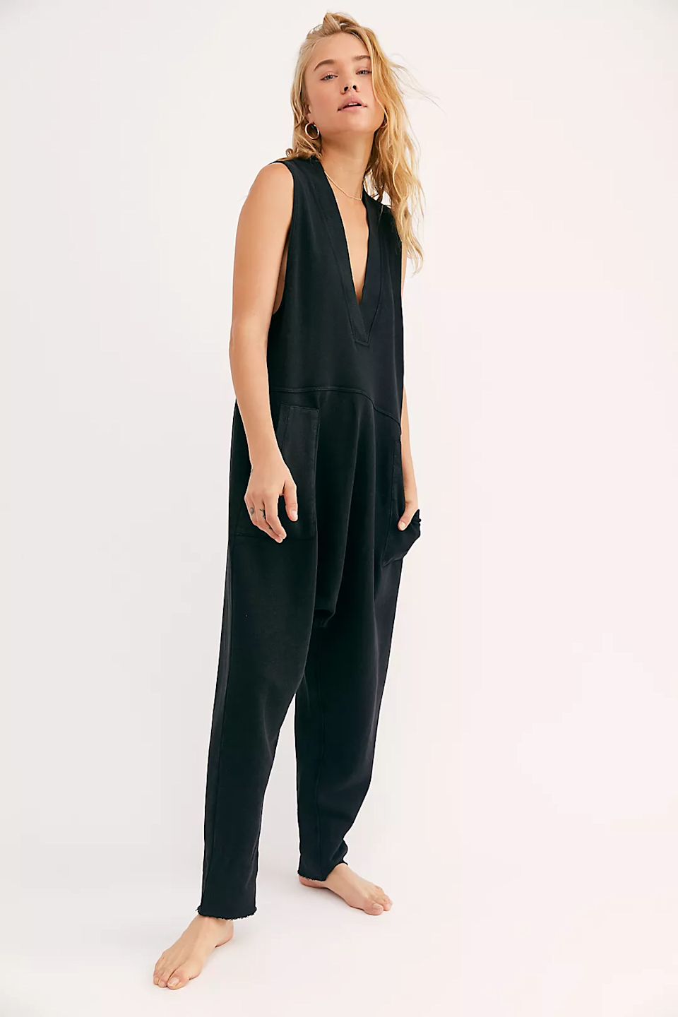 """<br><br><strong>Intimately</strong> Whats Up Onesie, $, available at <a href=""""https://go.skimresources.com/?id=30283X879131&url=https%3A%2F%2Fwww.freepeople.com%2Fshop%2Fwhats-up-onesie%2F"""" rel=""""nofollow noopener"""" target=""""_blank"""" data-ylk=""""slk:Free People"""" class=""""link rapid-noclick-resp"""">Free People</a>"""