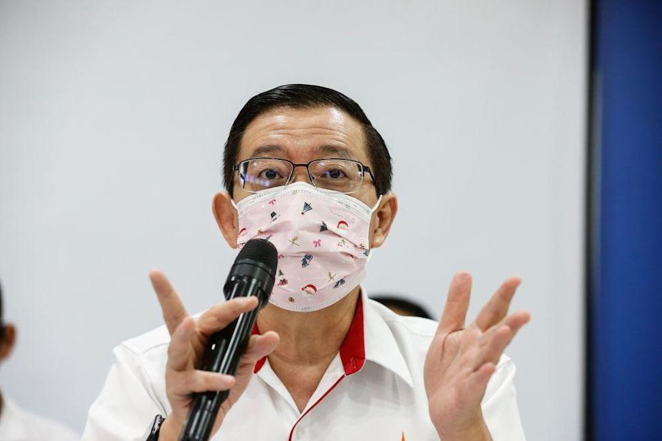 Lim Guan Eng said taking interest and profits from distressed borrowers is not really the 'Keluarga Malaysia' or 'Malaysian Family' way. — Picture by Sayuti Zainudin