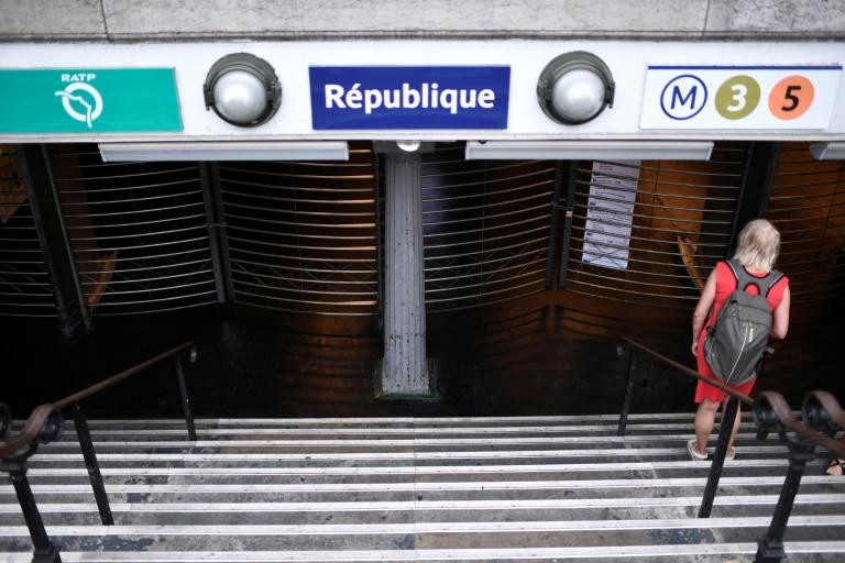 Only two automated Paris metro lines are expected to provide normal service during the strike (AFP Photo/STEPHANE DE SAKUTIN)