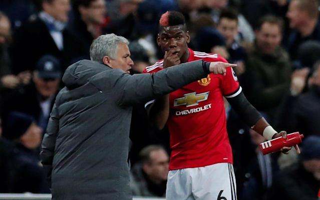 Jose Mourinho has criticised ex-players of Man Utd for their opinions on Paul Pogba - Action Images via Reuters