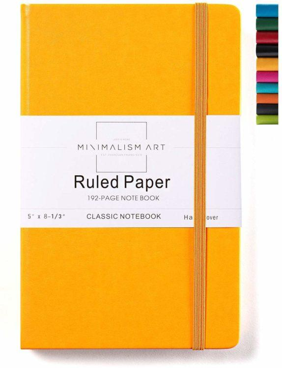 classic yellow journal