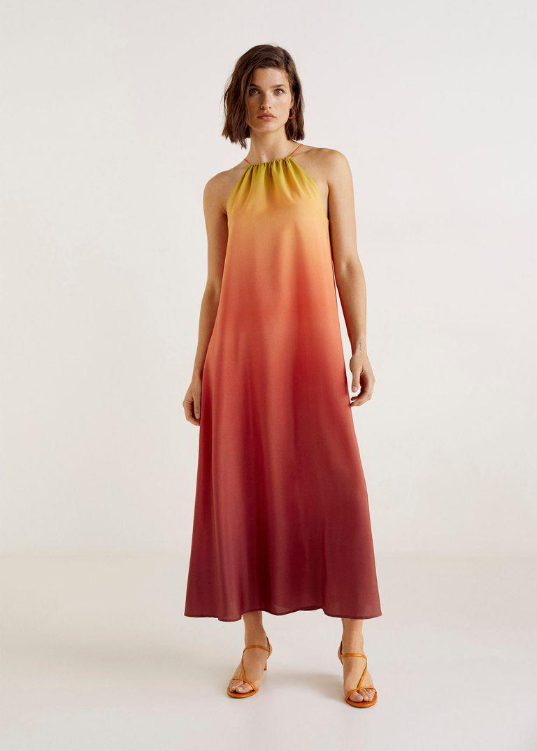 *That* sell-out Mango dress is finally back in stock [Photo: Mango]