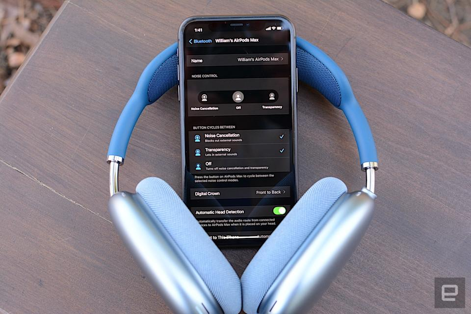"""Apple went full Cupertino with its first wireless noise-cancelling headphones. The company offers great sound and features in a product that exudes style. Due to all the metal, the headphones are quite heavy and the """"case"""" doesn't do much to protect your investment. If Apple can bring spatial audio to Apple TV and add a high-res option to Apple Music (or even support Dolby Atmos Music on other services), the $550 price tag will be easier to swallow. For most people though, more affordable flagship models from Bose and Sony will suffice."""