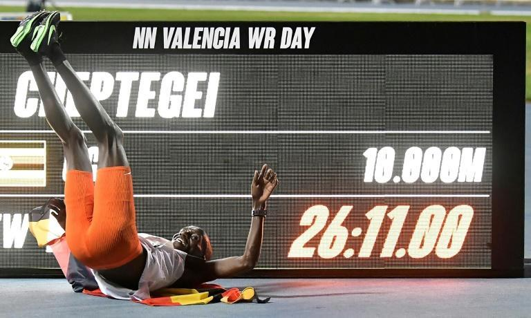 Uganda's Joshua Cheptegei beat the men's 10,000m world record previously set in 2005 by Kenenisa Bekele by an astonishing six seconds