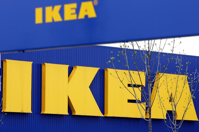 FILE - In this April 27, 2006 file photo, an exterior view of the Ikea furniture store in Duisburg, western Germany. The Czech veterinary authority said Monday, Feb. 25, 2013 it detected horse meat in meat balls labeled as beef and pork imported to the country by Sweden's furniture retailer giant Ikea. The State Veterinary Administration says the one-kilogram packs of the frozen meat balls were made in Sweden to be sold in Ikea's furniture stores that also offer typical Swedish food. (AP Photo/Frank Augstein, File)