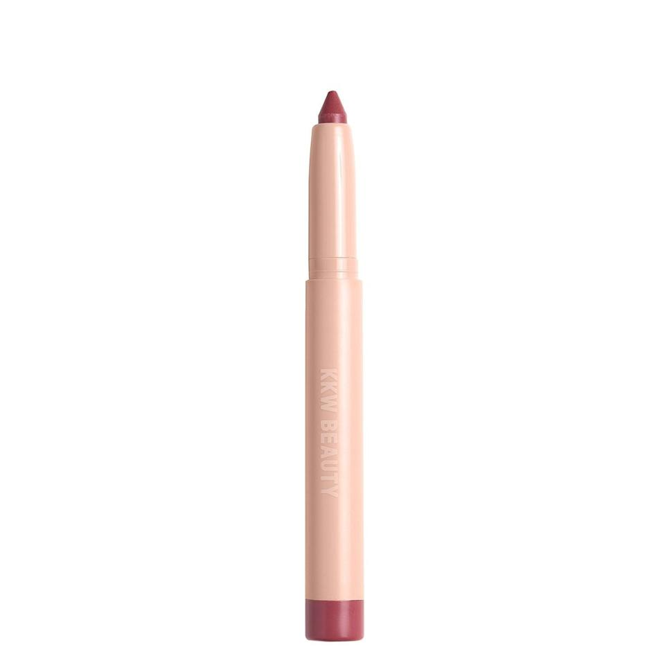<p>The <span>KKW x Allison Lip Crayon in London</span> ($18) is universally flattering - it looks beautiful on all skin tones. I appreciate the smooth finish that is moisturizing, yet still has staying power. One application lasts for hours.</p>