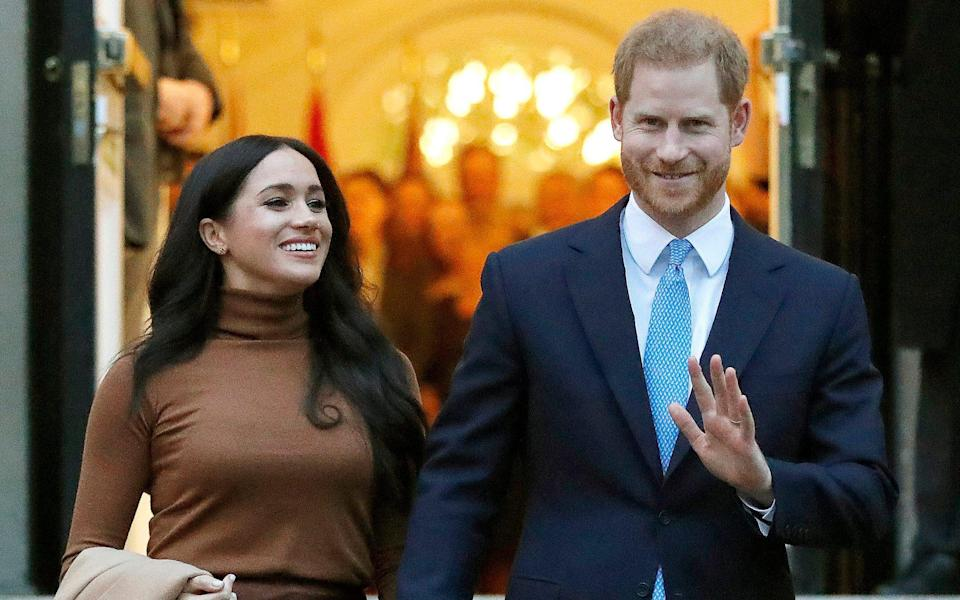 Prince Harry and Meghan will not be returning as working members of the Royal Family - Frank Augstein/AP