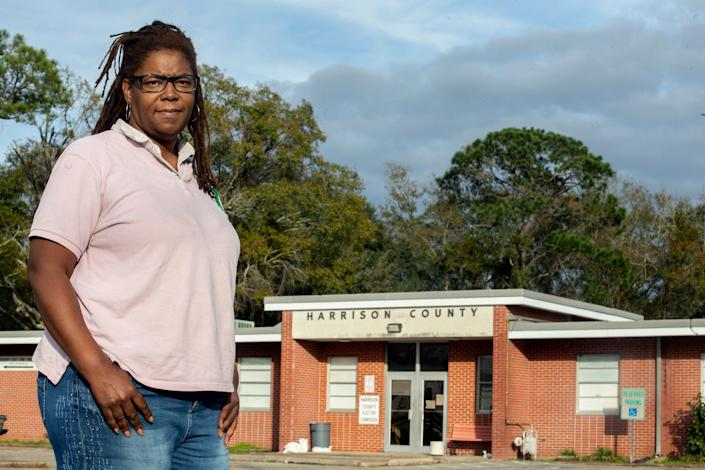"""Gaylia Mills needed to earn $2,893 at her Sonic Drive-In gig to get out of the Flowood Restitution Center, where she had been sent in 2018 for violating the terms of her probation on a drug possession charge. A guard stole $660 of her earnings, according to court documents.""""Not knowing when you're coming home is the worst part,"""" she said."""