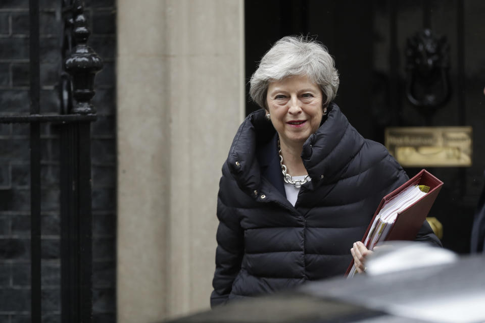 Theresa May is under increasing pressure to leave Downing Street. (GETTY)
