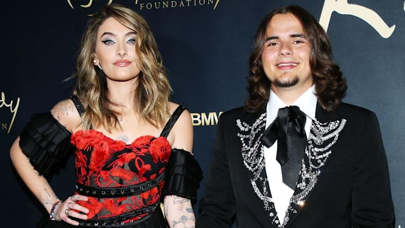 Paris and Prince Jackson Reminisce About Dad Michael Jackson While Getting Red Carpet Ready