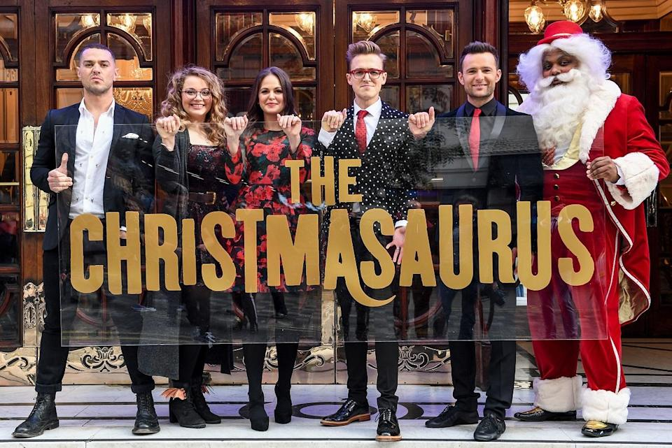 The Christmasaurus LIVE cast was announced earlier this week. Copyright: [Rex]