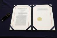 Impeachment Article Engrossment ceremony against U.S. President Donald Trump at the U.S. Capitol in Washington