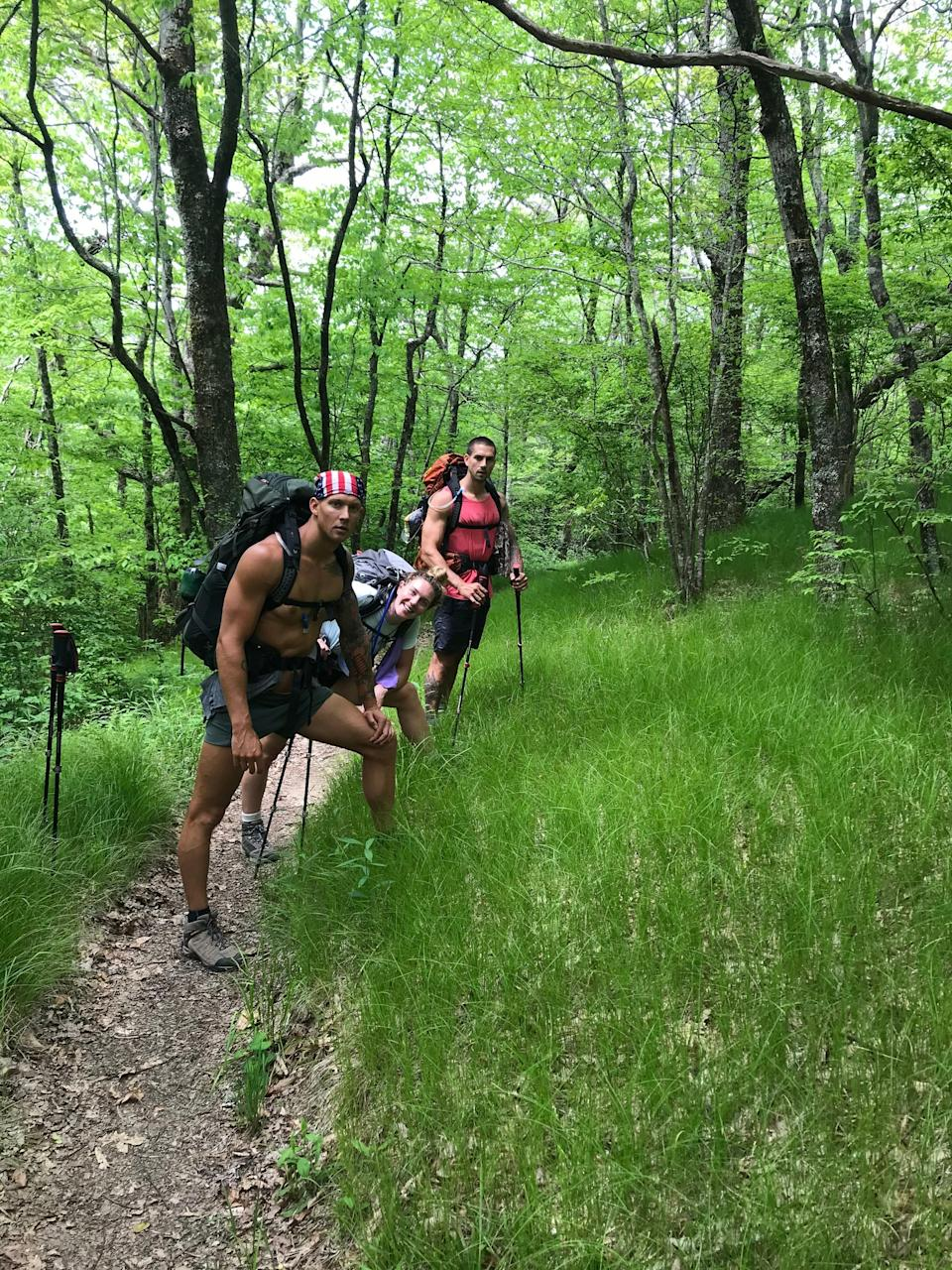 Olympic gold medalist Caeleb Dressel says hiking on the Appalachian Trail was a life-changing experience. He went on a trip with his siblings, Kaitlyn and Tyler.