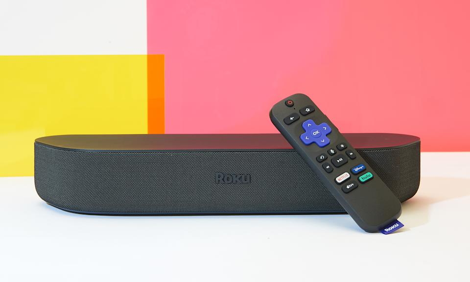 Roku Streambar for the Engadget 2021 Back to School guide.