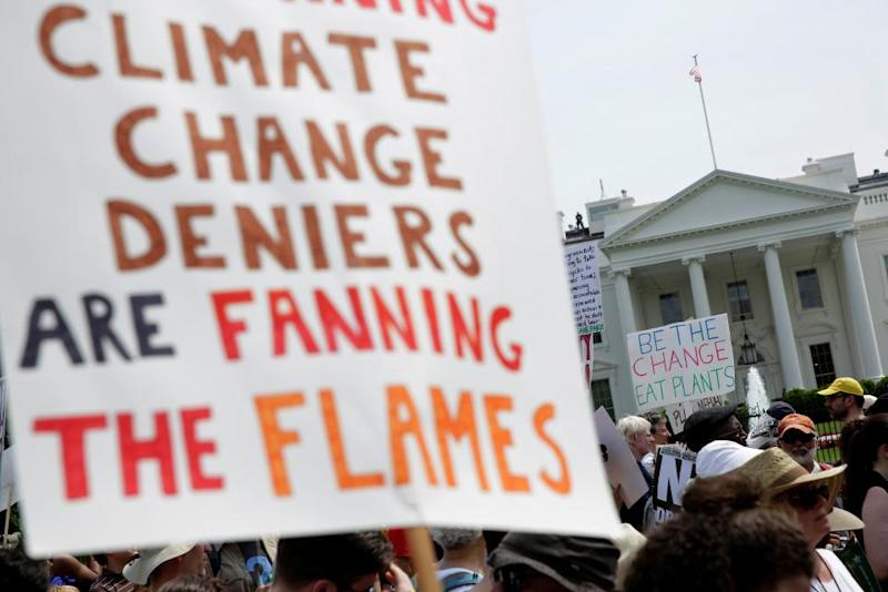 Peoples Climate March at White House