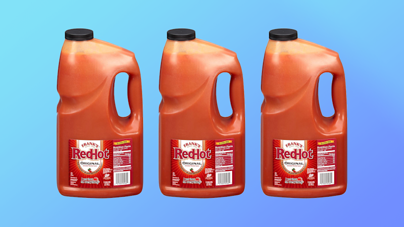 Wanna Buy a GALLON of Frank's RedHot? Today's Your Lucky Day.