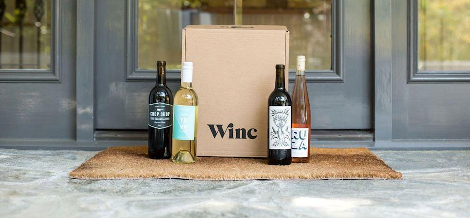 "<p>This wine service finds out her taste preferences before delivering four hand-picked bottles right to her door. How cool is that?</p><p><a class=""link rapid-noclick-resp"" href=""https://go.redirectingat.com?id=74968X1596630&url=https%3A%2F%2Fwww.winc.com%2F&sref=https%3A%2F%2Fwww.redbookmag.com%2Fhome%2Fg34747140%2Fchristmas-gifts-for-mom%2F"" rel=""nofollow noopener"" target=""_blank"" data-ylk=""slk:SHOP NOW"">SHOP NOW</a></p>"