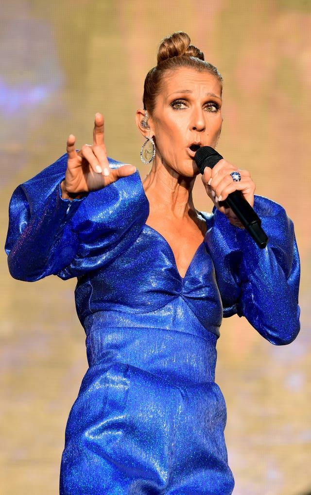Celine Dion has performed Bayer Sager's music (PA)