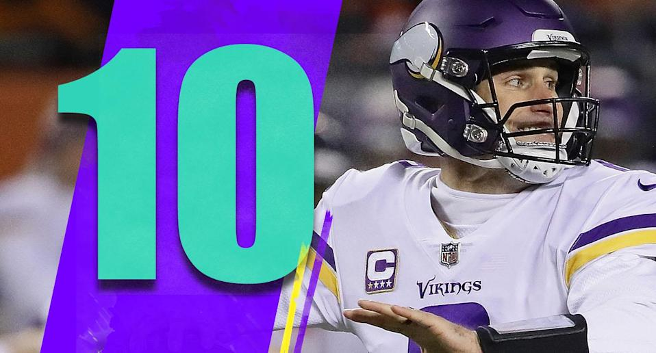 <p>You can't lay all of the Vikings' issues at Kirk Cousins' feet. Though, they paid him all that money to play better in games like Sunday night. (Kirk Cousins) </p>