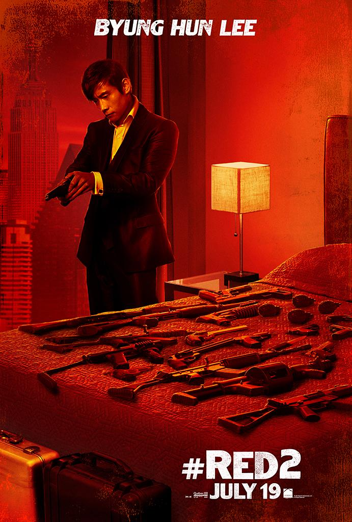 """Byung Hun Lee in Summit Entertainment's """"RED 2"""" - 2013<br><br> <a href=""""http://l.yimg.com/os/251/2013/04/25/Red2-OnlineCharacter-posters-BHL-fin2-jpg_170609.jpg"""" rel=""""nofollow noopener"""" target=""""_blank"""" data-ylk=""""slk:View full size >>"""" class=""""link rapid-noclick-resp"""">View full size >></a>"""
