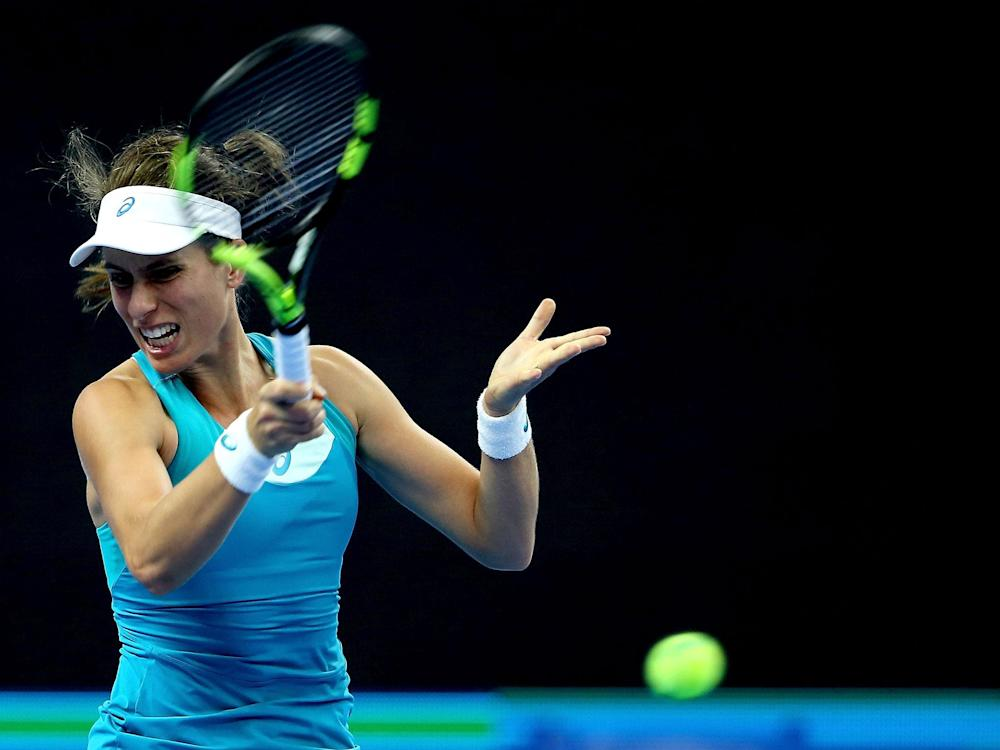 Konta ended her partnership with Fissette after a disappointing end to what had been an impressive 2017: Getty