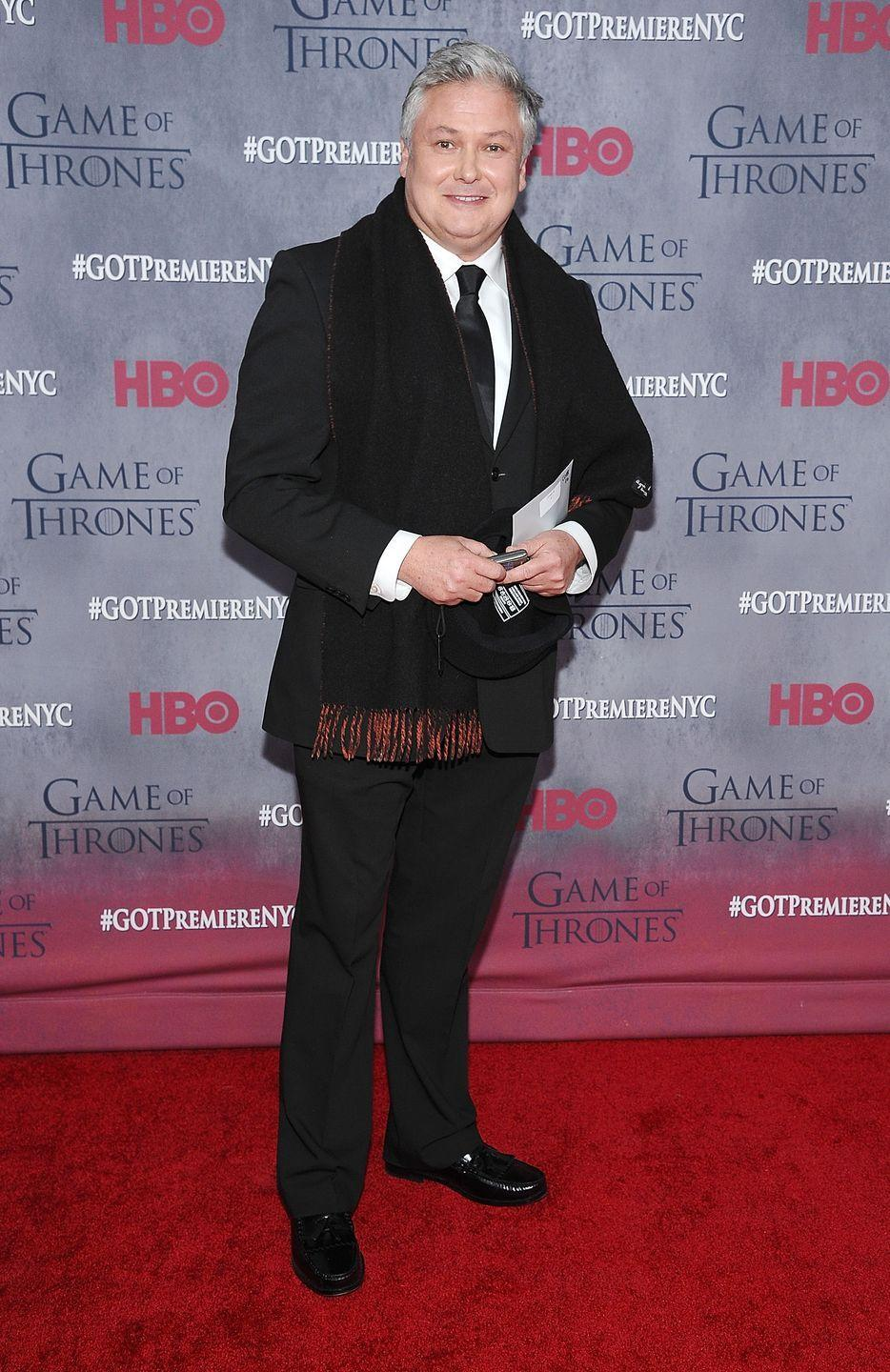 <p>Conleth Hill, who plays Varys, in 2014.</p>