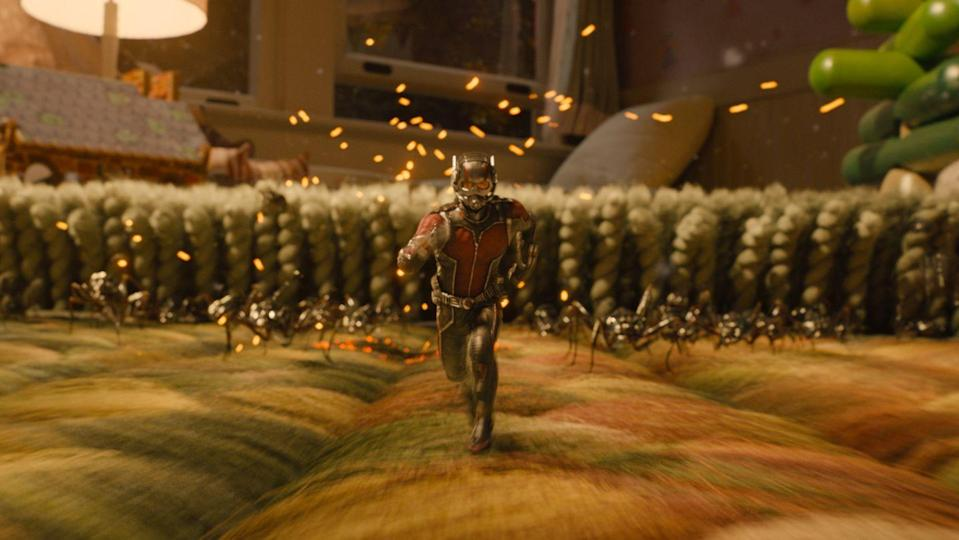 """<p>Petty thief Scott Lang becomes Ant-Man, who, with his ability to shrink, proves that big heroes can come in tiny packages.</p><p><a class=""""link rapid-noclick-resp"""" href=""""https://www.amazon.com/Ant-Man-Theatrical-Paul-Rudd/dp/B015YJPVQ4?tag=syn-yahoo-20&ascsubtag=%5Bartid%7C10055.g.29023076%5Bsrc%7Cyahoo-us"""" rel=""""nofollow noopener"""" target=""""_blank"""" data-ylk=""""slk:AMAZON"""">AMAZON</a> <a class=""""link rapid-noclick-resp"""" href=""""https://go.redirectingat.com?id=74968X1596630&url=https%3A%2F%2Fwww.disneyplus.com%2Fmovies%2Fmarvel-studios-ant-man%2F5c92KVf1zgUX&sref=https%3A%2F%2Fwww.goodhousekeeping.com%2Flife%2Fentertainment%2Fg29023076%2Fmarvel-movies-mcu-in-order%2F"""" rel=""""nofollow noopener"""" target=""""_blank"""" data-ylk=""""slk:DISNEY+"""">DISNEY+ </a></p>"""