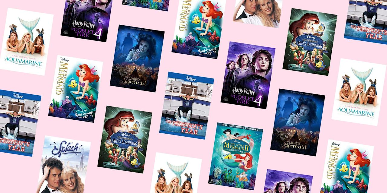 """<p>You've watched Princess Ariel belt out """"Part of Your World"""" about a hundred times already, but did you know that there are actually three <em>Little Mermaid </em>movies in the series? Yep. And if you're not into cartoons, there are a ton of other hit films based around the mythical creatures that are 100% worth the watch.<em></em><em></em></p><p>From the '80s hit <em><a href=""""https://www.amazon.com/dp/B00D4LKOVC"""" target=""""_blank"""">Splash</a> </em>to my personal favorite Disney Channel Original Movie, <em></em><em><a href=""""https://www.amazon.com/dp/B018YJ3BJU"""" target=""""_blank"""">The Thirteenth Year</a></em>,<em> </em>and the classic teen film <em><a href=""""https://www.amazon.com/dp/B000JJLOU2"""" target=""""_blank"""">Aquamarine</a>, </em>these movies will give you all the nostalgia.<em> </em><em></em>Scroll on for the best mermaid movies you can stream right now – from Disney and beyond. </p>"""