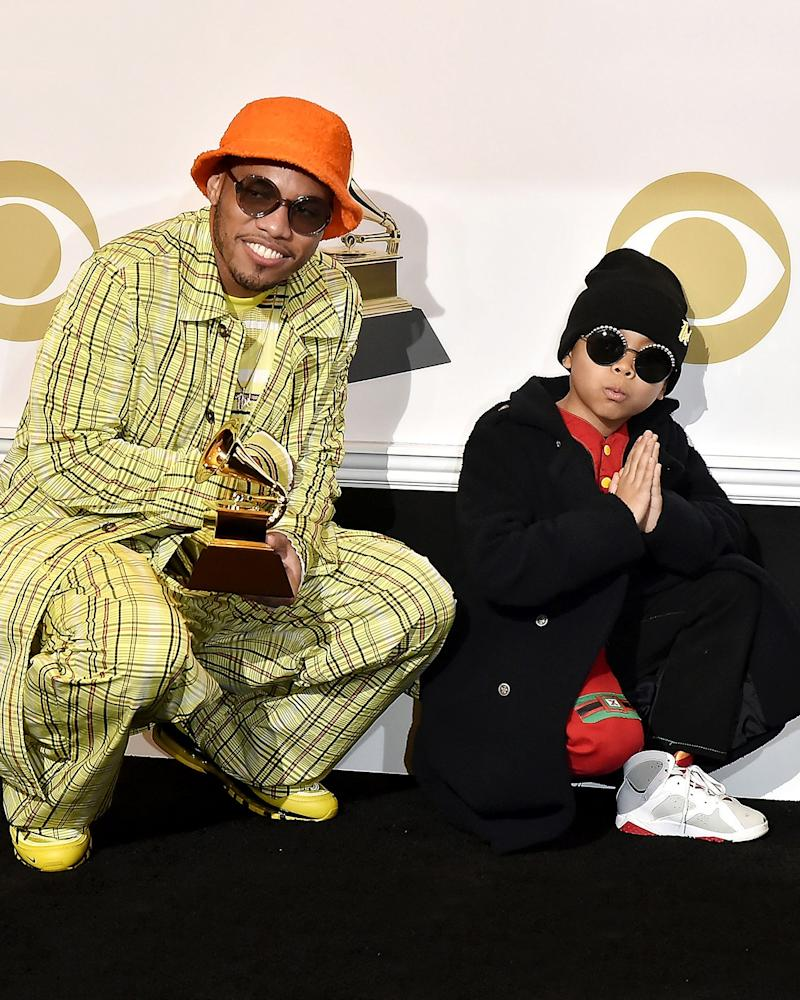 Anderson Paak scores a Grammy—and we'll toss in a Best Dad award, too.