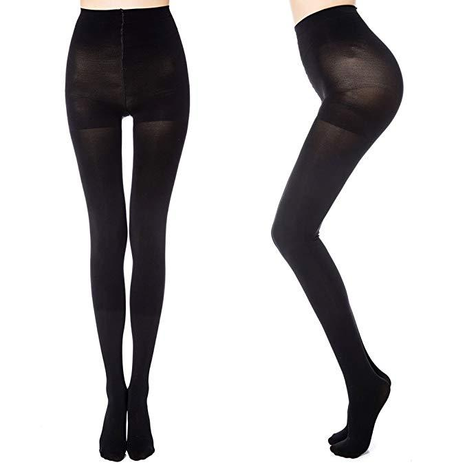 Add these Manzi 70 denier tights to your autumn wish list [Photo: Amazon]