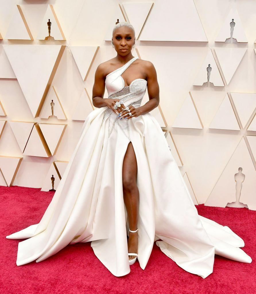 <p>Cynthia Erivo has been a breakout red carpet star this season, culminating in this fitted gown that has all of the fashion super-hero vibes a girl could wish for.</p>