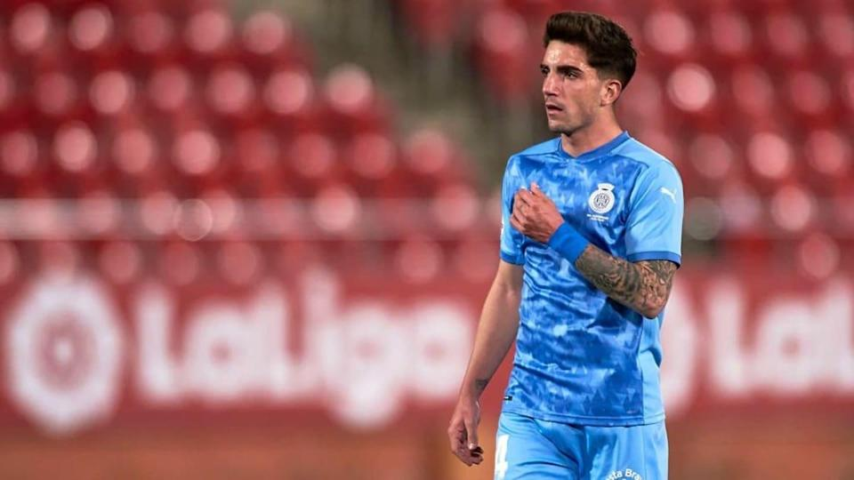 Monchu veste a camisa do Girona. | Quality Sport Images/Getty Images
