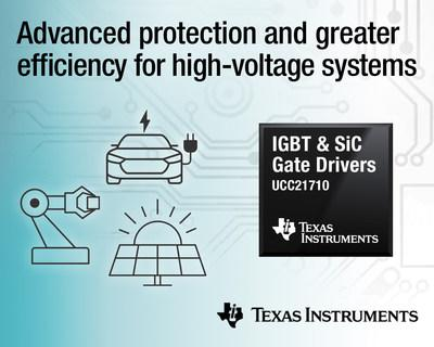 First isolated gate drivers with integrated sensing for IGBTs and