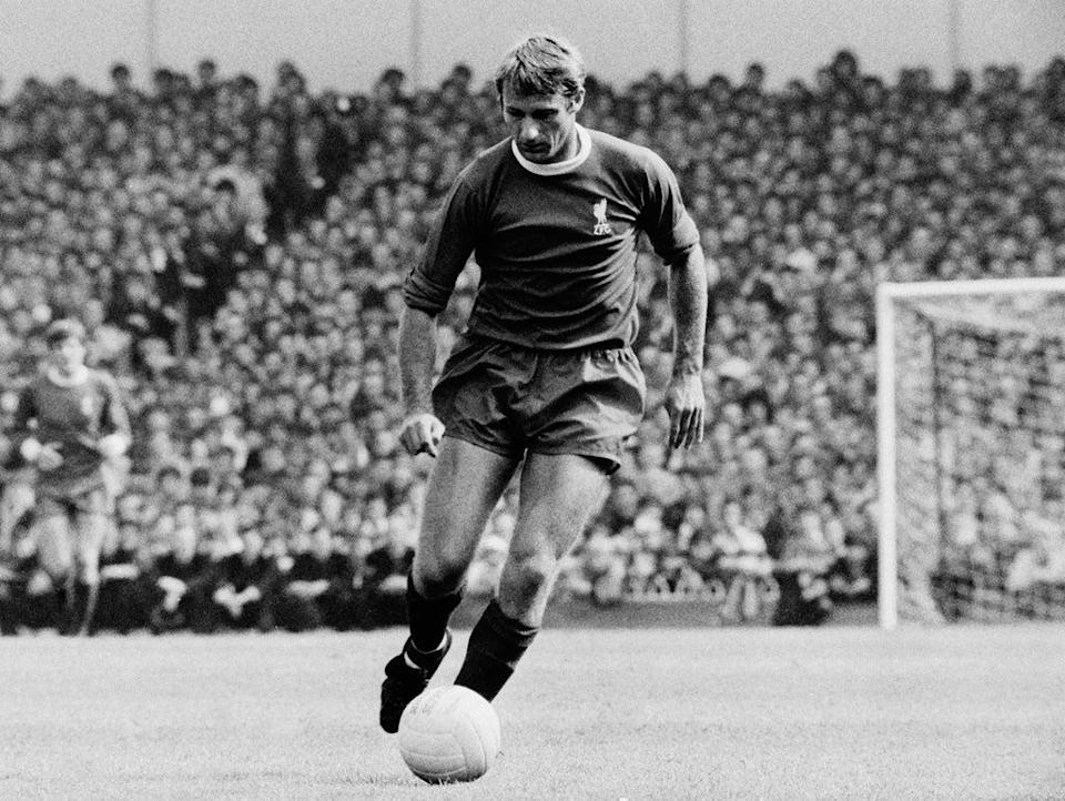Hunt in action for Liverpool in 1969 (Bob Thomas Sports Photography/Getty)