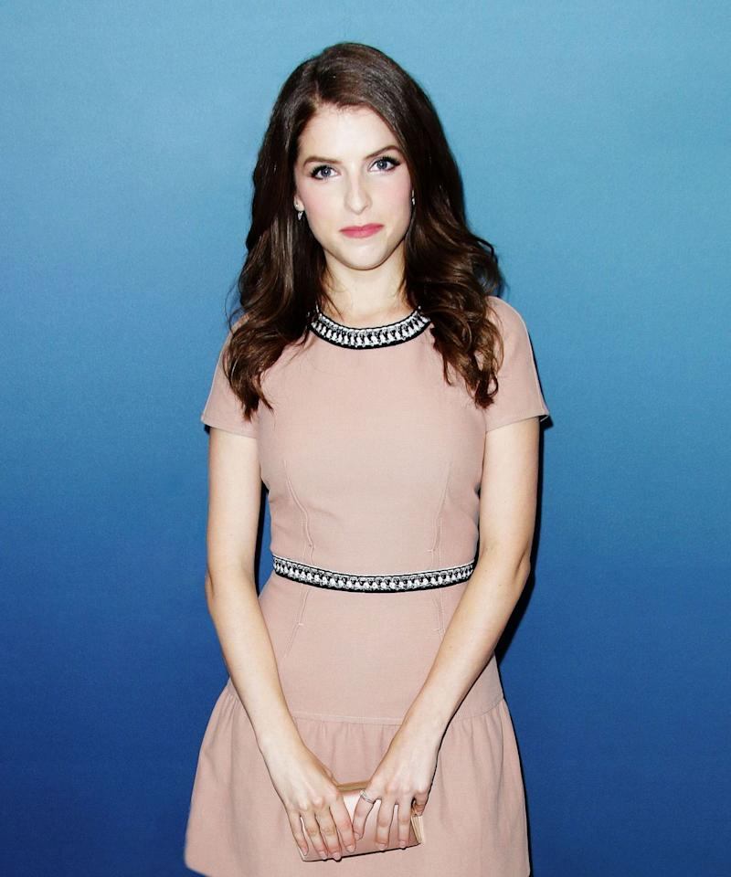 "<p>Anna Kendrick has also made her adoration for Taco Bell public, <a href=""https://twitter.com/annakendrick47/status/216041523744219136?lang=en"">sharing her love</a> of the Doritos Locos taco with Twitter, leading her to become, as she put it, ""Little Miss Taco Bell."" <br /><br />""All my Twitter followers tweet at me about Taco Bell,"" <a href=""https://www.youtube.com/watch?v=aKg8Kjgwdgg"">she told Anderson Cooper</a> in 2012, after he offered her a Doritos Locos taco on his show. Another fan of the Doritos Locos taco turned out to be Bethenny Frankel, also a guest that day, who declared the dish ""a pregnant person's dream.""</p><p>PHOTO: JIM SMEAL/BEI/SHUTTERSTOCK.<br /></p>"