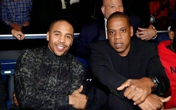 <span>An image of Andre Ward sitting alongside Jay Z was used to trick the internet</span> <span>Credit: Roc Boxing </span>
