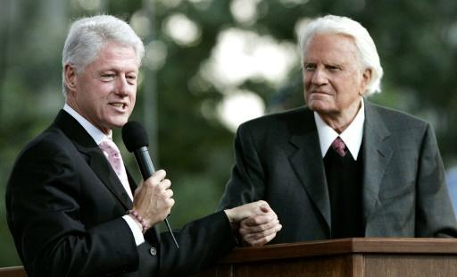 <p>US presidents lead tributes to 'America's pastor' Billy Graham</p>