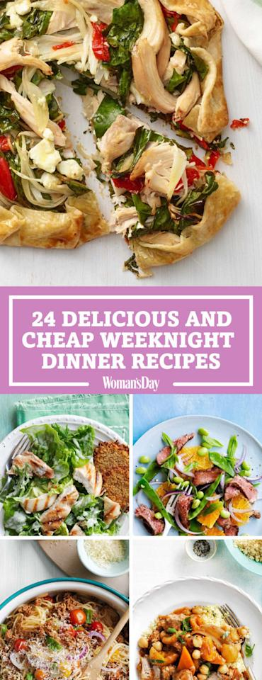 "<p>Save these recipes for later by pinning this image, and follow Woman's Day on <a rel=""nofollow"" href=""https://www.pinterest.com/womansday/"">Pinterest</a> for more ideas.</p>"