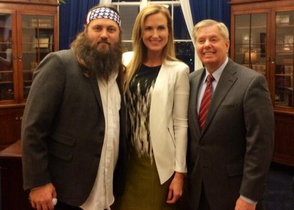 UPDATE: 'Duck Dynasty's' Willie Robertson Creates Quandary For TV Reporters Covering President Obama's State Of Union Address