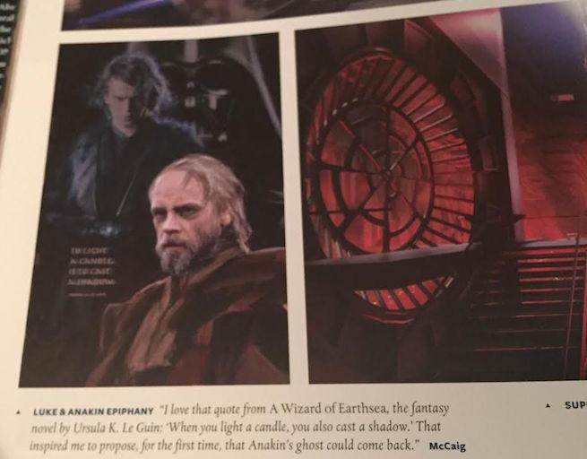 Anakin Skywalker S Force Ghost Was In Concept Art For Star