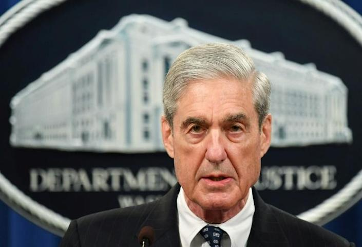 Targeted by President Donald Trump: Special Counsel Robert Mueller, who led the investigation into possible Trump campaign collusion with Russia in the 2016 election