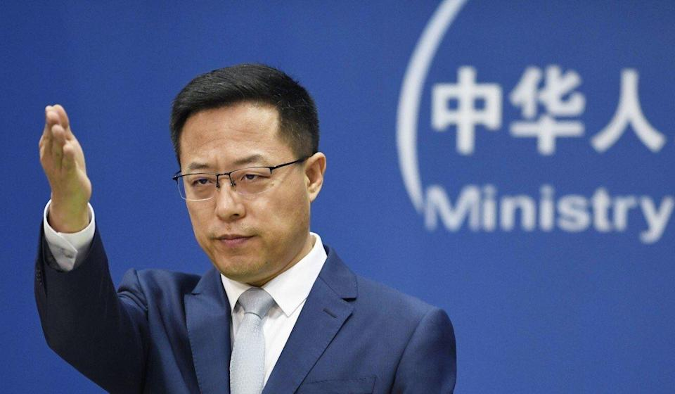 Foreign ministry spokesman Zhao Lijian said the investigation should not be politicised. Photo: Kyodo