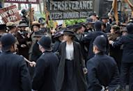 """<p>If you cheered in your living room when Angelica sang that she was going to compel Thomas Jefferson to include women in the sequel to the Declaration of Independence, then you need to watch <em>Suffragette</em>, which centers on the plight of female foot soldiers advocating for their right to vote during the turn of the century in the U.K.</p><p><a class=""""link rapid-noclick-resp"""" href=""""https://www.amazon.com/gp/video/detail/amzn1.dv.gti.c6a9f707-a29a-2094-52a1-d4ae1fe06d03?tag=syn-yahoo-20&ascsubtag=%5Bartid%7C10058.g.33594048%5Bsrc%7Cyahoo-us"""" rel=""""nofollow noopener"""" target=""""_blank"""" data-ylk=""""slk:WATCH IT"""">WATCH IT</a><br></p>"""
