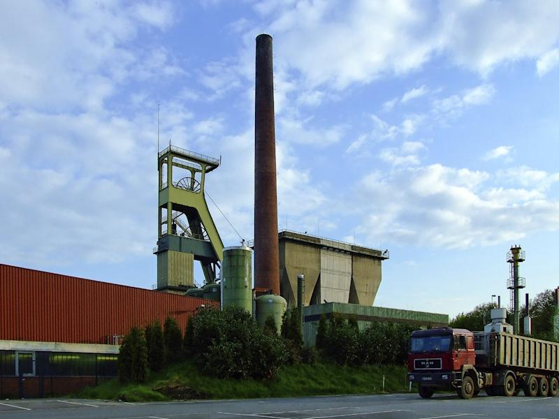 The Prosper Haniel hard coal mine in the state of North-Rhine Westphalia is set to close in 2018, when a process of turning it into a clean energy facility will start: Goseteufel/Wikimedia Commons